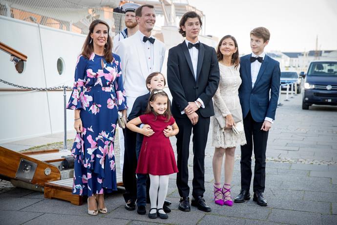 Prince Joachim has four children, Prince Nikolai of Denmark, 20, Prince Felix of Denmark, 17, Prince Henrik of Denmark, 11 and Princess Athena of Denmark, eight.
