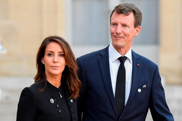 """Marie's not-a-hair-out-of-place 'do's are always enviable - [much like Princess Mary's](https://www.nowtolove.com.au/celebrity/celeb-news/princess-marys-lookalike-sister-in-law-princess-marie-3953