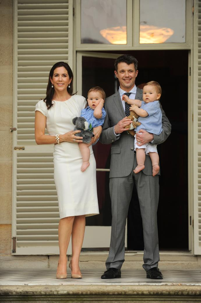 We can see why there was so much excitement - imagine having these adorable, regal tots as relatives!