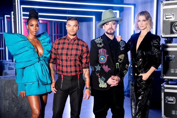 *The Voice* judges are all keen to win.