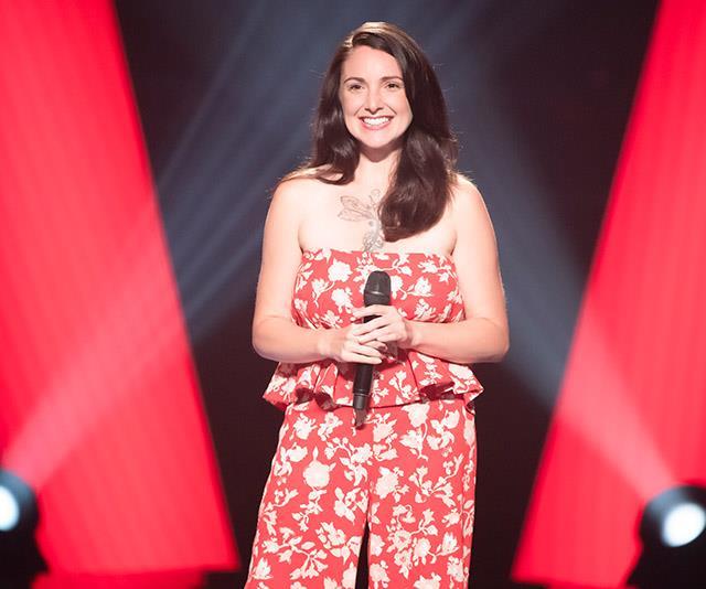 Former *Australian Idol* winner Natalie Gauci is back on *The Voice*.