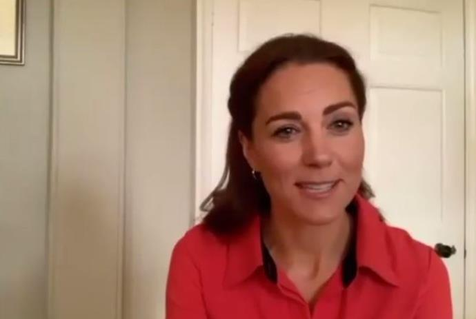 Kate is seen in the special new video in support of those suffering fro addiction.