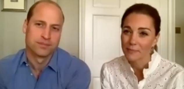 Kate and Wills also partook in a special series of Zoom calls for National Volunteer Week.