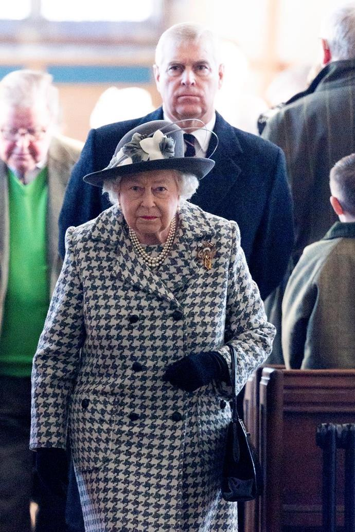 Prince Andrew has kept a low profile since he stepped back from his royal duties late last year.