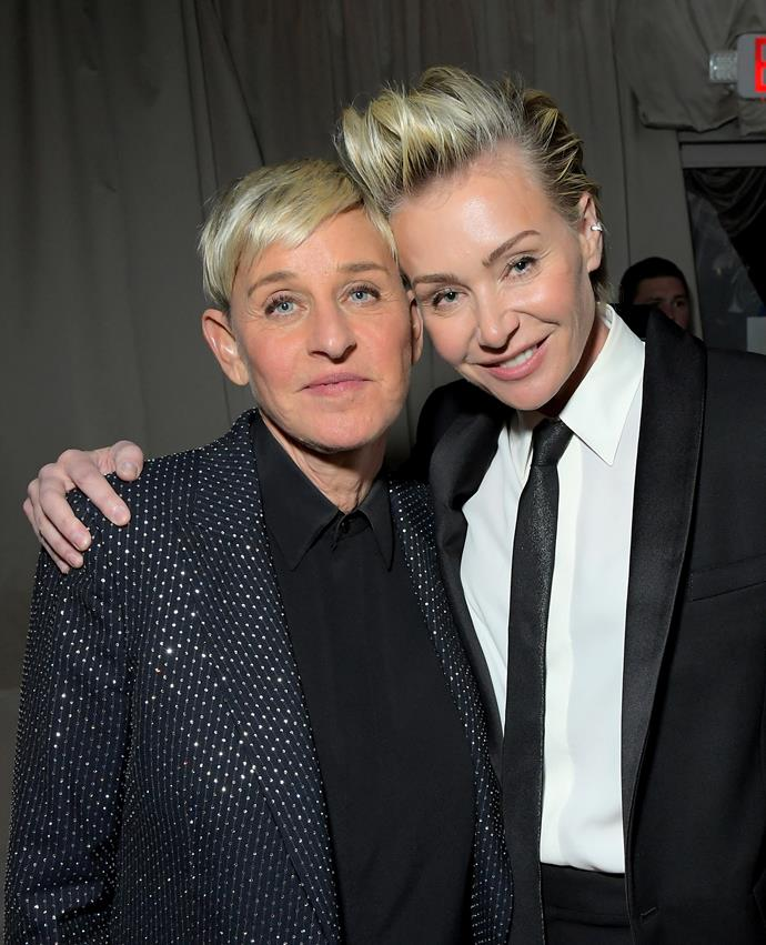 """**ELLEN DENEGERES and PORTIA DE ROSSI** <br><br> Last year, the US talk show host and animal lover took to Twitter to defend the royal couple over their use of Elton John's private plane. Many criticised the royals for using a means of travel that is bad for the environment, despite the couple's work with environmental, conservation and climate change organisations.  <br><br> """"Portia and I met Prince Harry and Meghan to talk about their work on wildlife conservation,"""" she wrote. """"They were the the most down-to-earth, compassionate people. Imagine being attacked for everything you do, when all you're trying to do is make the world better."""""""