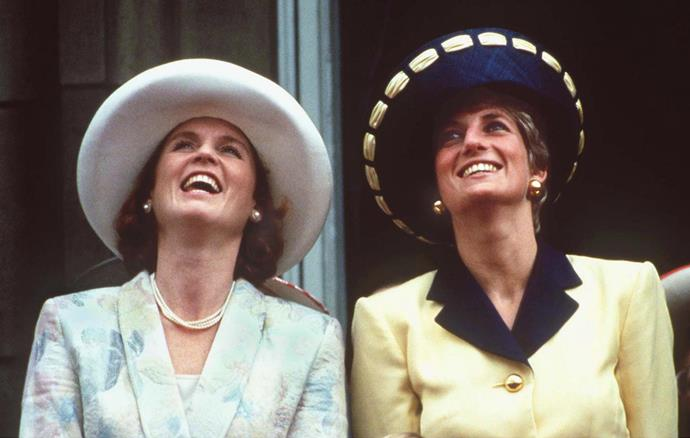The royal women were back at it again in 1991 - Diana and Fergie's ensembles were a 1990s fashion peak.