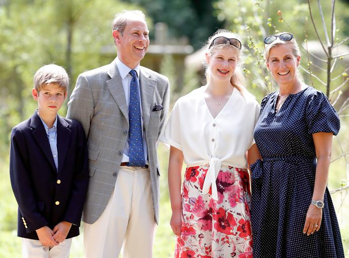 The Wessex family are down-to-earth, despite being part of Britain's most elite family.