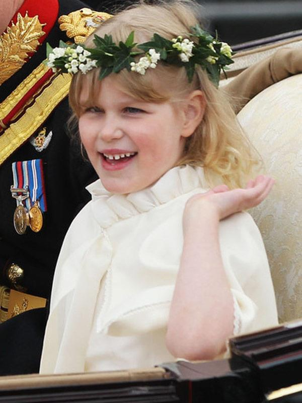 Sophie made headlines at Prince William and Duchess Catherine's wedding in 2011.