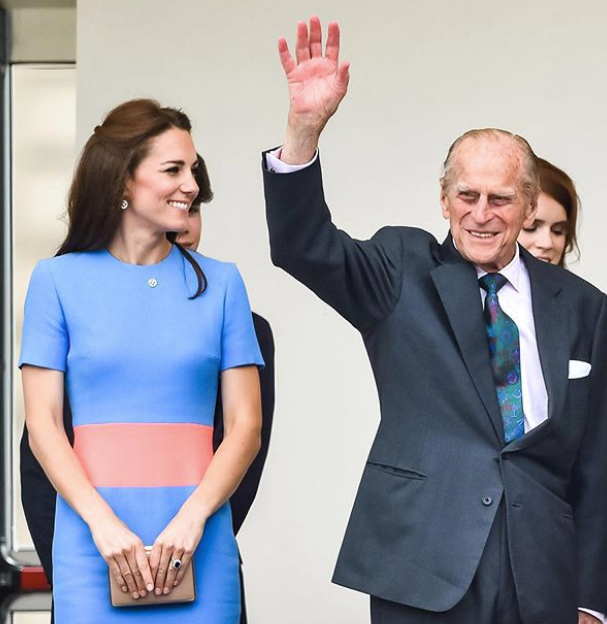 The Prince and Duchess Catherine are seen in the first tribute picture posted by Kensington Royal.