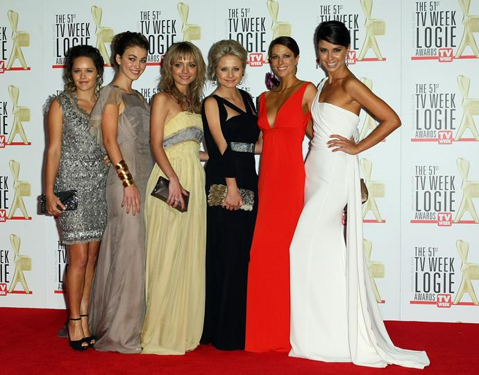Like looking at our prom photos, the stunning women from the cast turned up the sparkle in 2009.