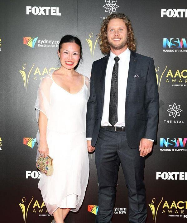 Poh married Jono Bennett (pictured), who she met on the set of *MasterChef* season one.