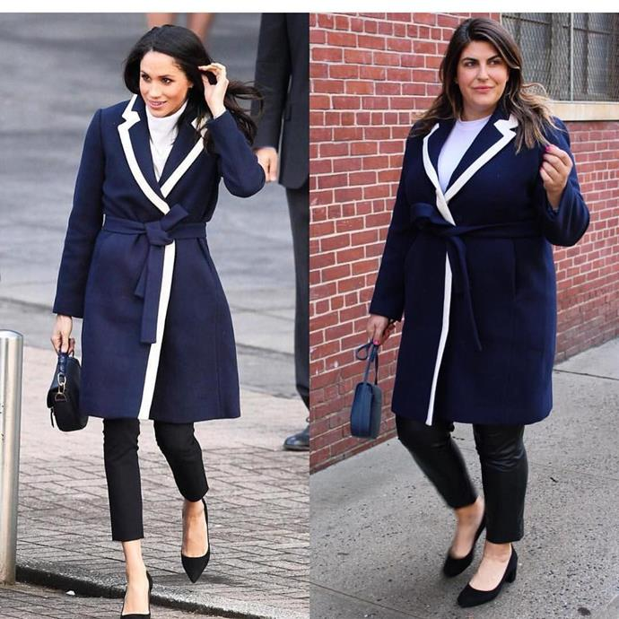 Katie Sturino created the viral hashtag #SuperSizeTheLook, where she recreates the outfits of A-list celebs.