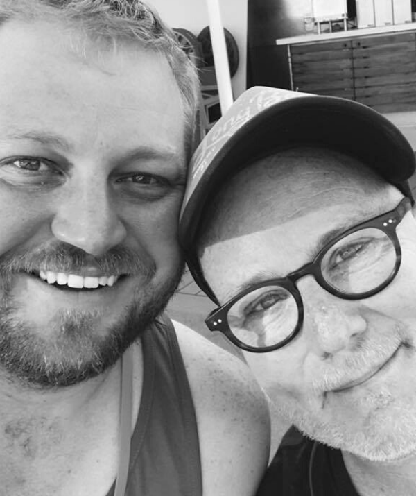 Garth and his partner Gavin made the life-changing decision to foster a son in 2018.
