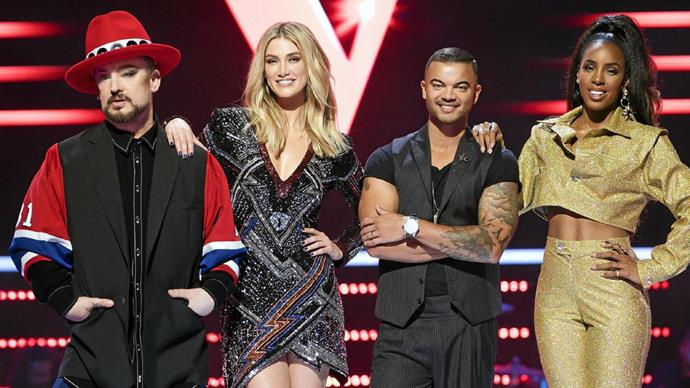 Kelly has clashed with her fellow coaches on *The Voice* this season.