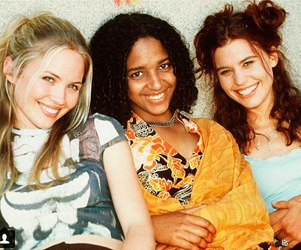 Fleur (centre) dominated soapies in the 90's.