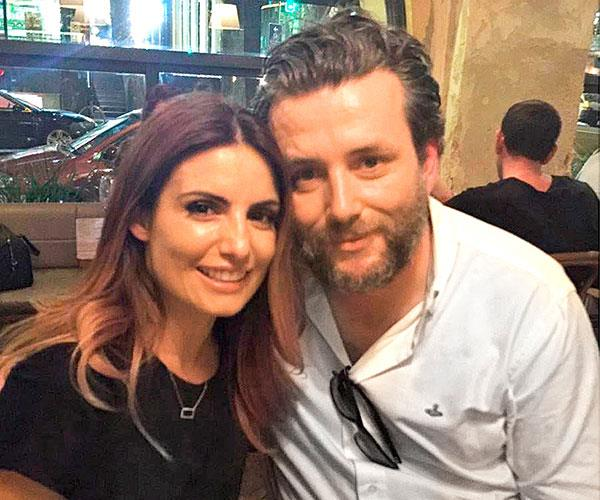 He's kept in touch with former co-star Ada Nicodemou Image: Instagram