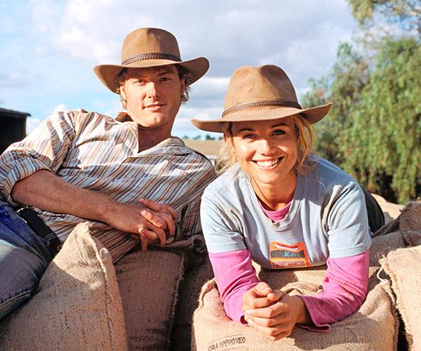 Bridie became a household name as Tess on *McLeod's Daughters*.