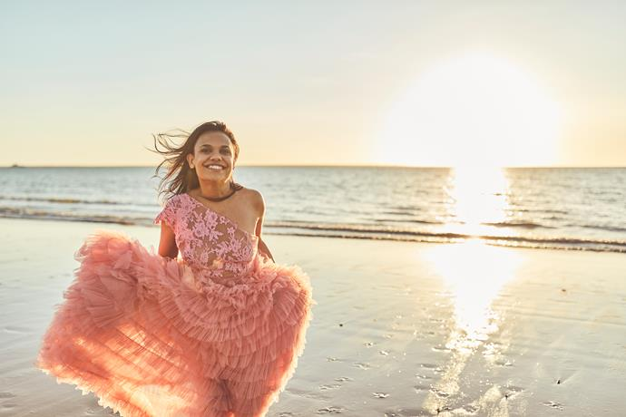 """""""I'm taking each day as it comes,"""" Miranda Tapsell tells us."""