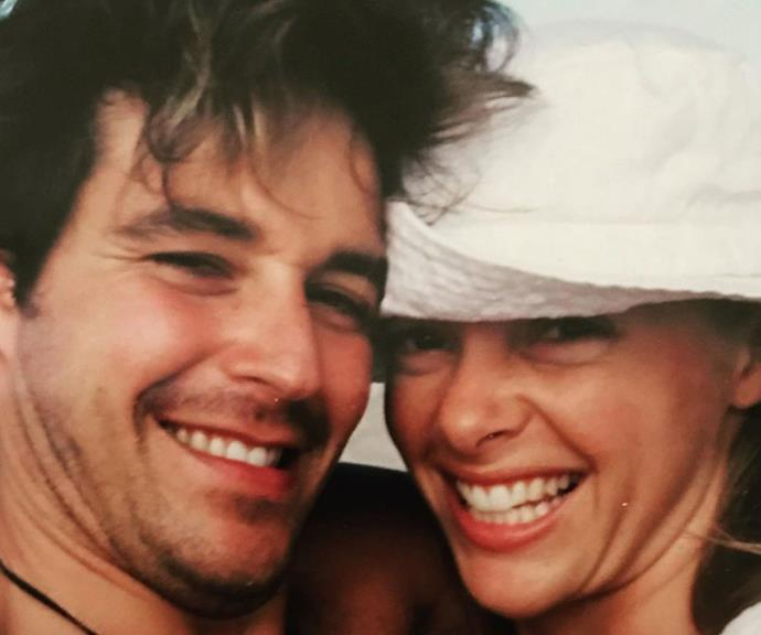 """""""Way back in the 90s, we thought we were pretty clever taking a picture of ourselves,"""" Cameron, 55, mused alongside this throwback with his wife."""