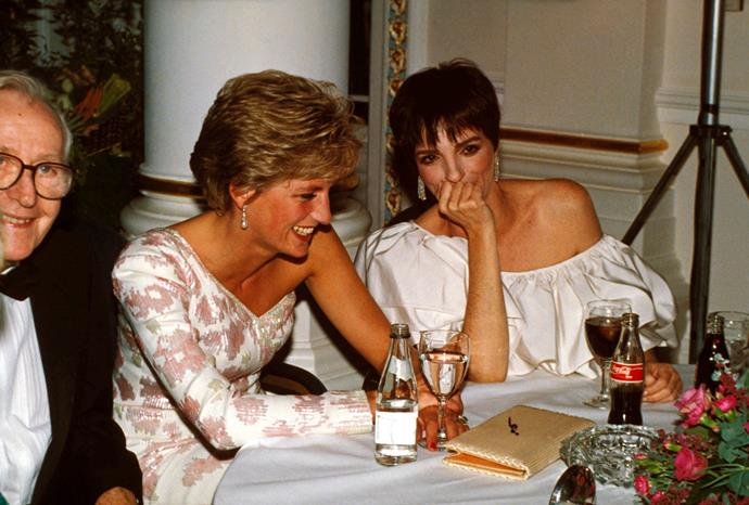 Liza and Princess Diana shared a close bond back in the day.