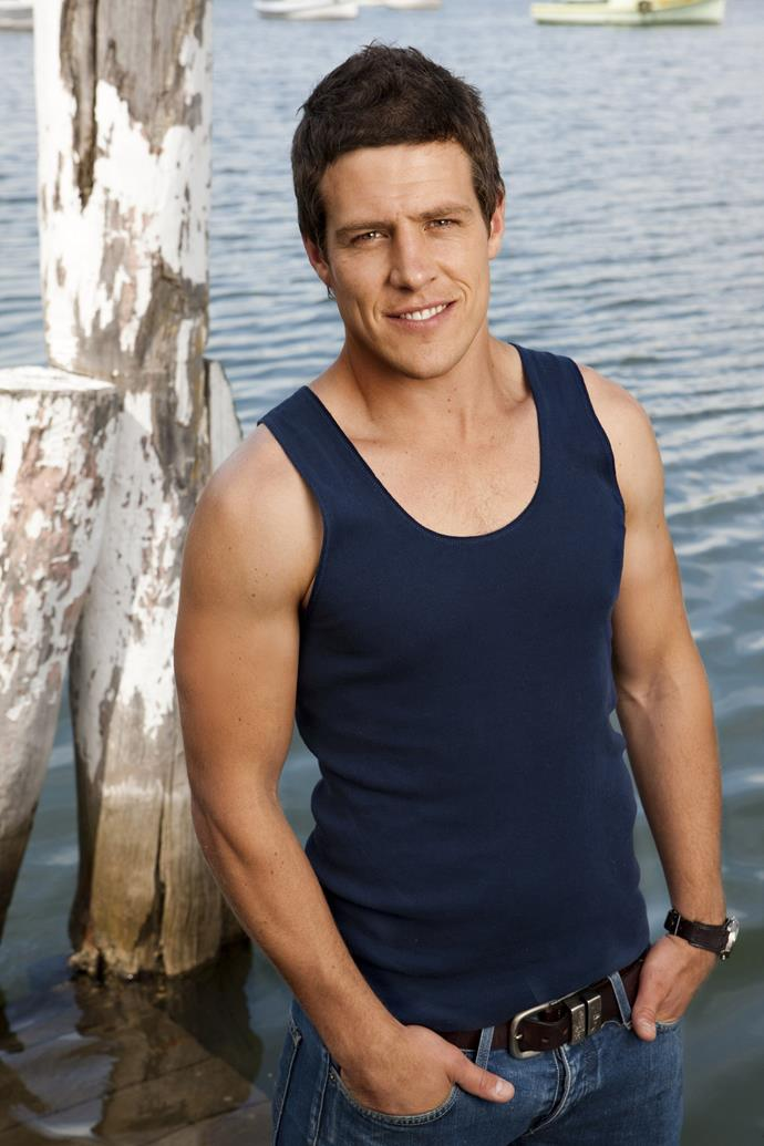Stephen Peacocke quickly became a fan favourite thanks to his performance as Braxton in *Home And Away*.