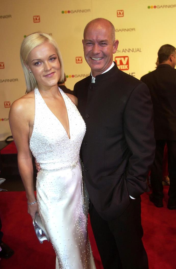Gary Sweet with his former partner Chloe Morgan.