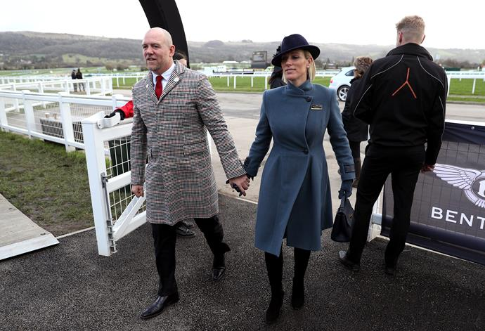 Zara and Mike Tindall have long been avid horse racing fans and attendee's at many a festival.