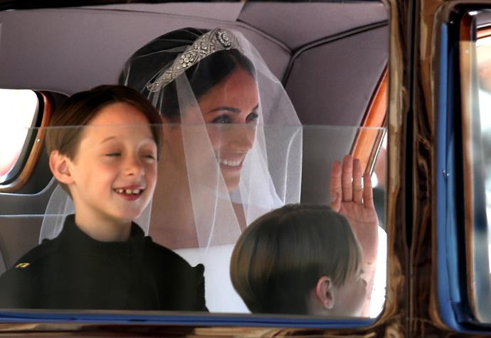The Mulroney twins had a starring role in Meghan's wedding back in 2018.