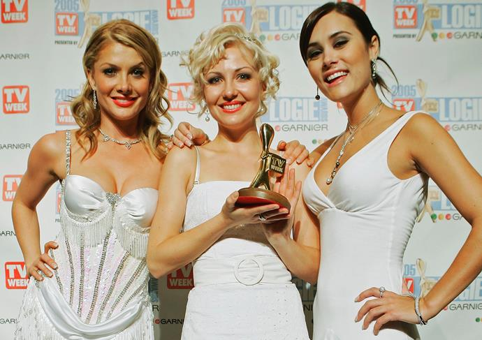 Natalie Bassingthwaighte, Marisa Warrington and Natalie Blair were a white out in 2005.