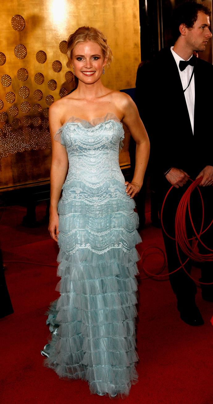 Pippa Black looked like a Disney princess that same year.