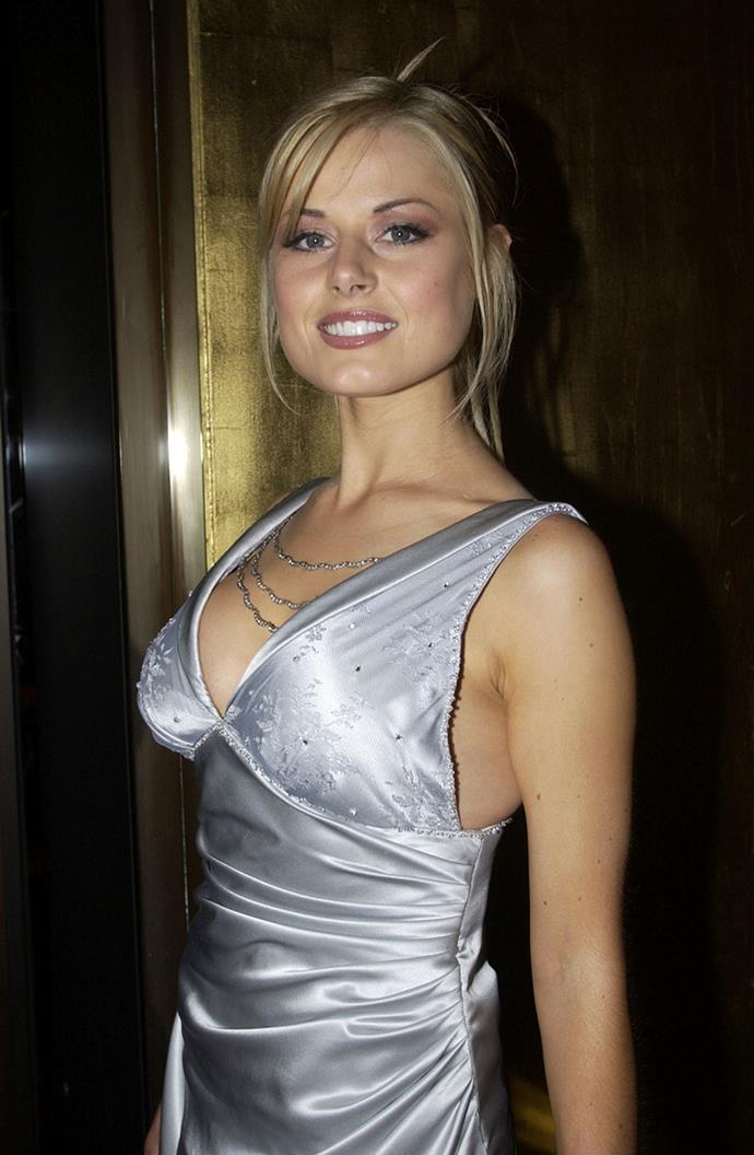 Madeleine West was a silver fox in 2002 as she rocked the Logies red carpet in this eye-catching satin design.