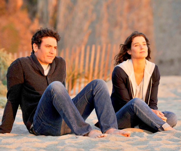 Ted (Josh Radnor) and Robyn (Cobie Smulders).