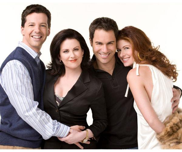 The loveable cast of *Will & Grace*.