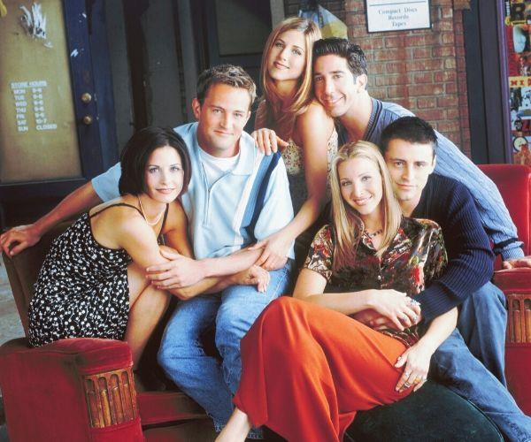 *Friends* was a huge hit as soon as it hit the screens.