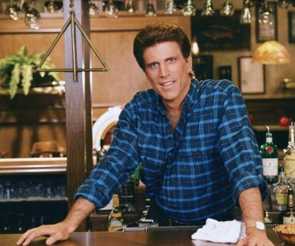 *Cheers* was Ted Danson's breakthrough role. He played the role of Sam Malone.  Image: Supplied