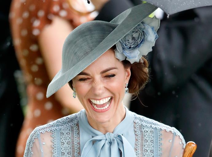 You can bet we were just as thrilled as Kate to see her *finally* wear this dreamy designer.