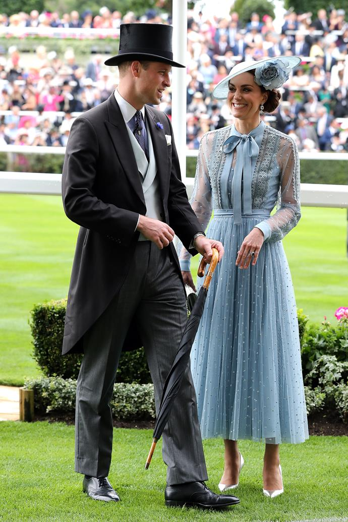 Duchess Catherine and Prince William made quite the couple at the exclusive event.