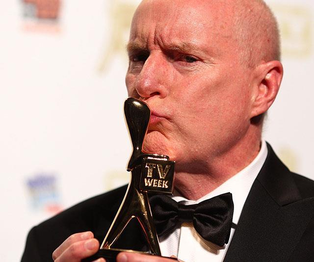 Ray says he didn't think he had any chance of winning the Gold Logie in 2010.