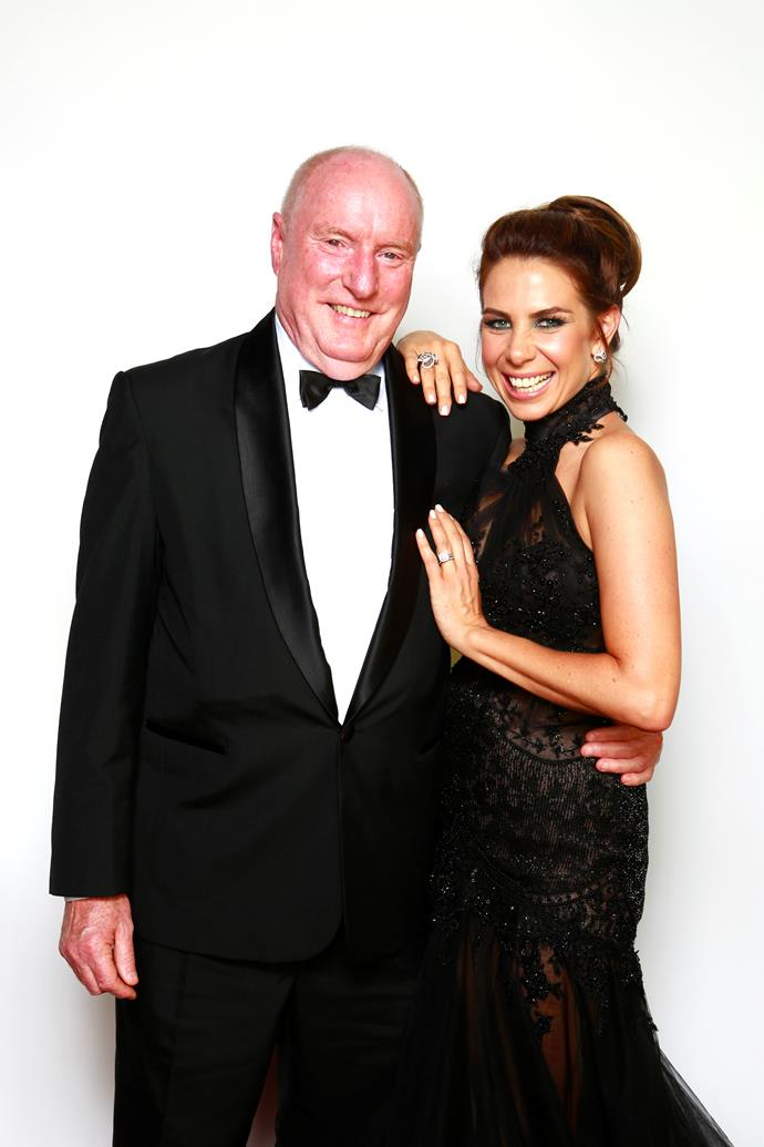 Kate and former *Home and Away* co-star Ray Meagher still share a special bond.