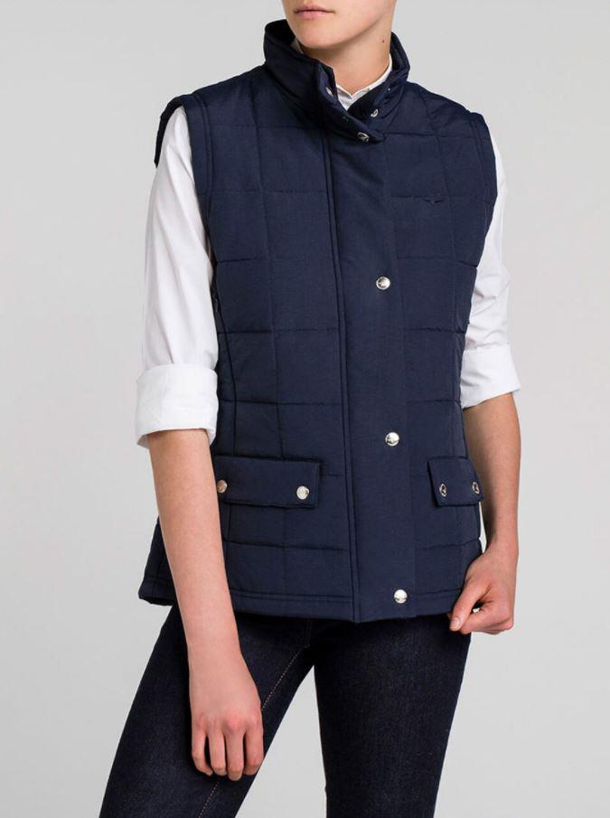 """Add a touch of warmth to your winter ensemble with a comfy padded vest, like this R.M. Williams style. $99.95, [buy it online here](https://www.rmwilliams.com.au/women/clothing/jackets-vests/wilpena-creek-vest/JV834NY01.html target=""""_blank"""" rel=""""nofollow"""")."""