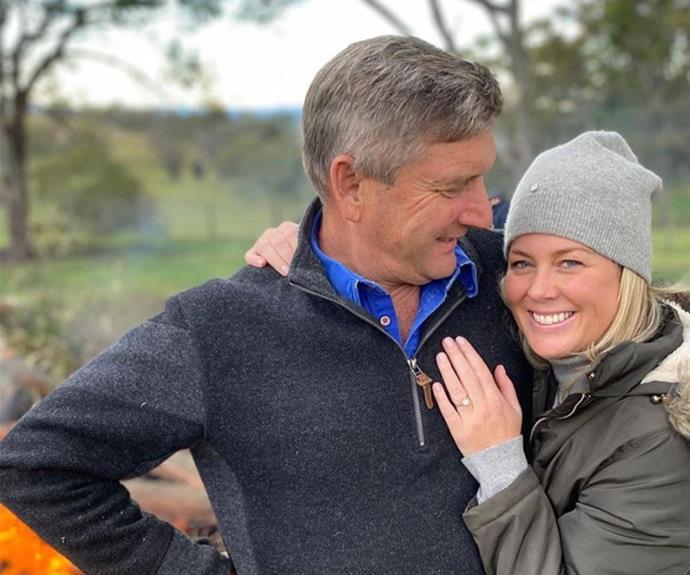 Mr and Mrs Lavender! Sam Armytage is set to wed boyfriend Richard Lavender.