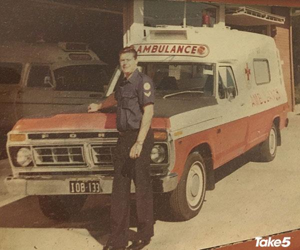 In my time as an ambulance officer.