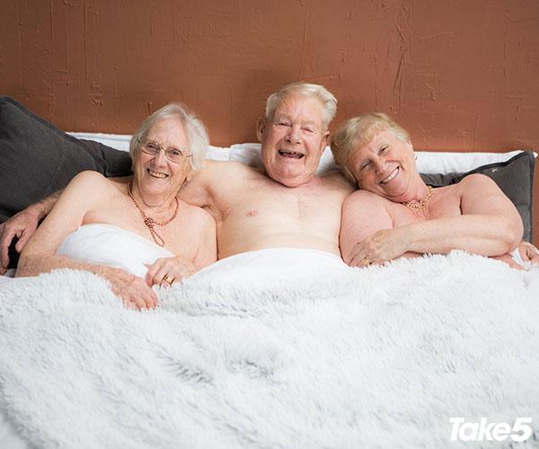 L-R Wanda, Brian and Lorraine.