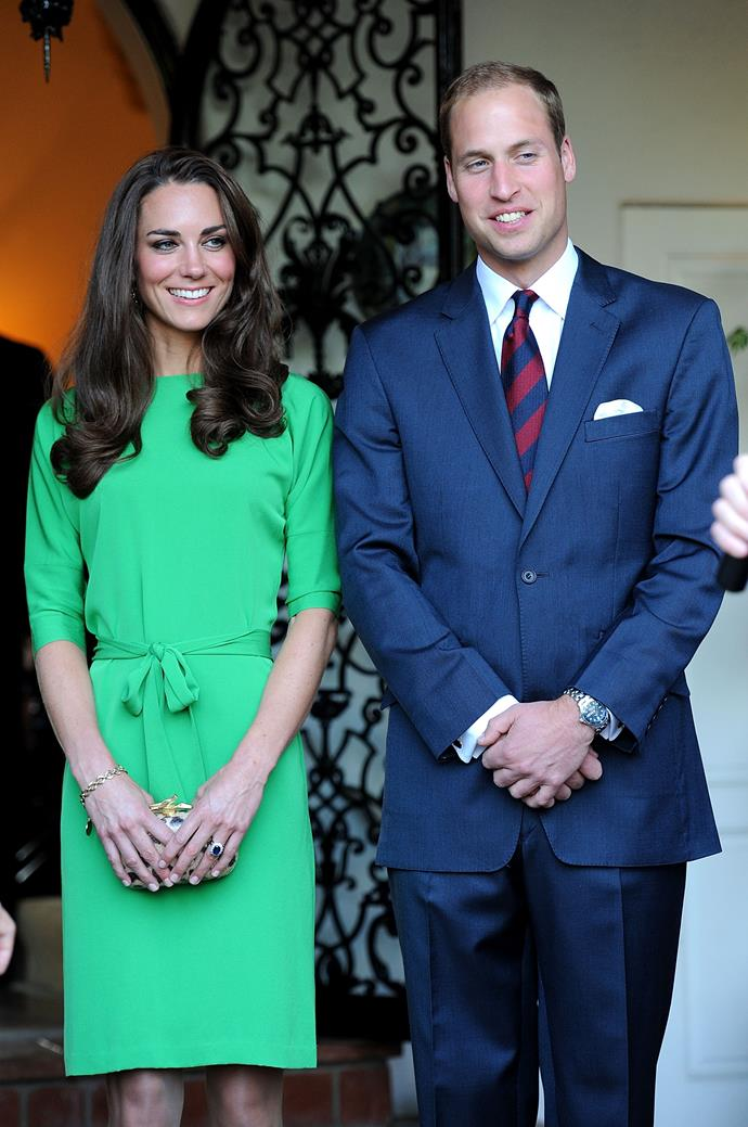 Kate's green dress from 2011 was one of many glorious designs she's since worn over the years.