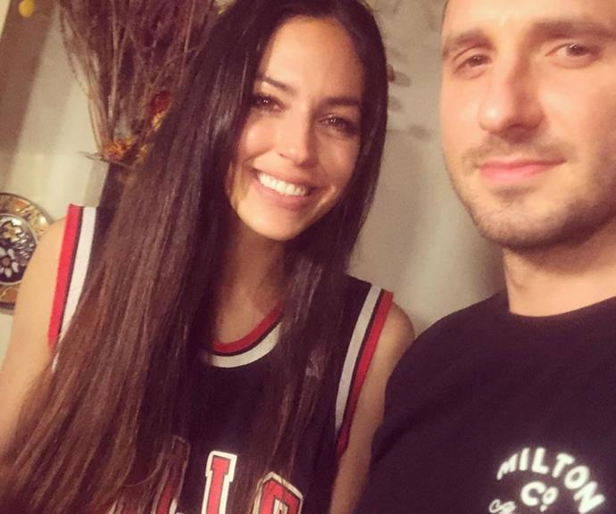 """""""Just subtlety suggesting who I should take to dinner with Dennis Rodman...."""" Tommy penned alongside this snap with girlfriend Nat."""