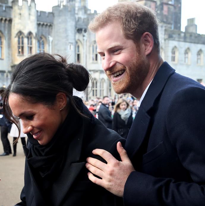 Harry and Meghan's day at work with the charity won't be forgotten anytime soon.