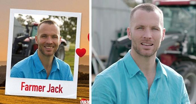 **Farmer Jack, 27** <br><br> A merino wool farmer from Harrow, Victoria, Jack describes himself as energetic, fun and enthusiastic.  <br><br> The five things that make Jack unique, according to him: 1. I am adventurous  2. I am empathetic  3. I am loyal  4. My ability to find the good in people  5. I'm great at making anyone feel comfortable