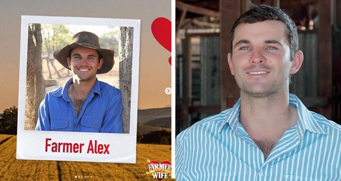 """**Farmer Alex, 28** <br><br> A sheep and cattle farmer from Cunnamulla, Queensland, Farmer Alex claims he's an energetic larrikin and a loyal friend. He also enjoys learning new things, specifically to do with geopolitics. <br><br> The five things that make Alex unique, according to him: 1. I resemble a bear at times  2. I have a British passport  3. I can speak some German """"Sprechen sie Deutsch?""""  4. I am the middle child with two sisters  5. I've visited over 32 countries. My favourites were Greece, Germany and Canada"""
