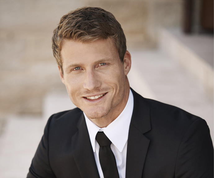 Richie on *The Bachelor* in 2016.