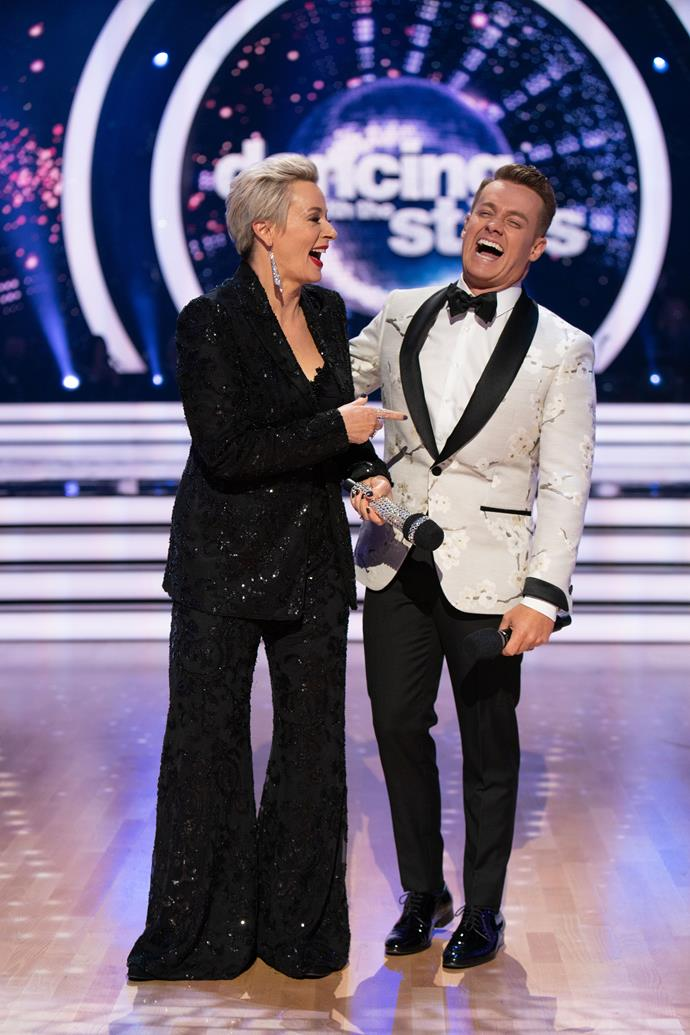 Amanda has made a big impression on Aussie screens - her *Dancing with the Stars* hosting gig alongside Grant Denyer is one of many.